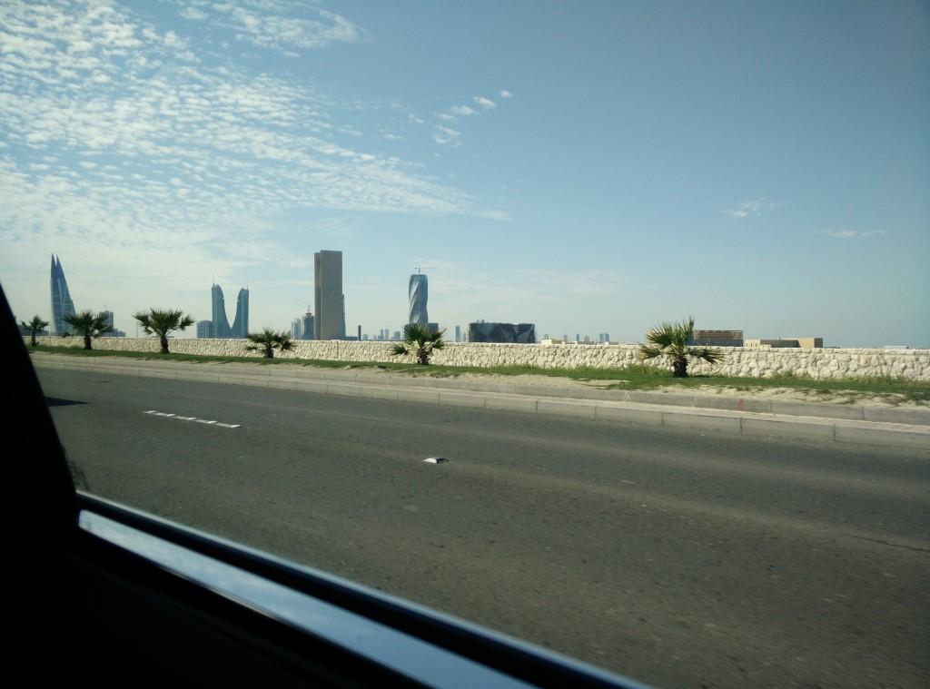 Piccolo scorcio dello Skyline di Manama