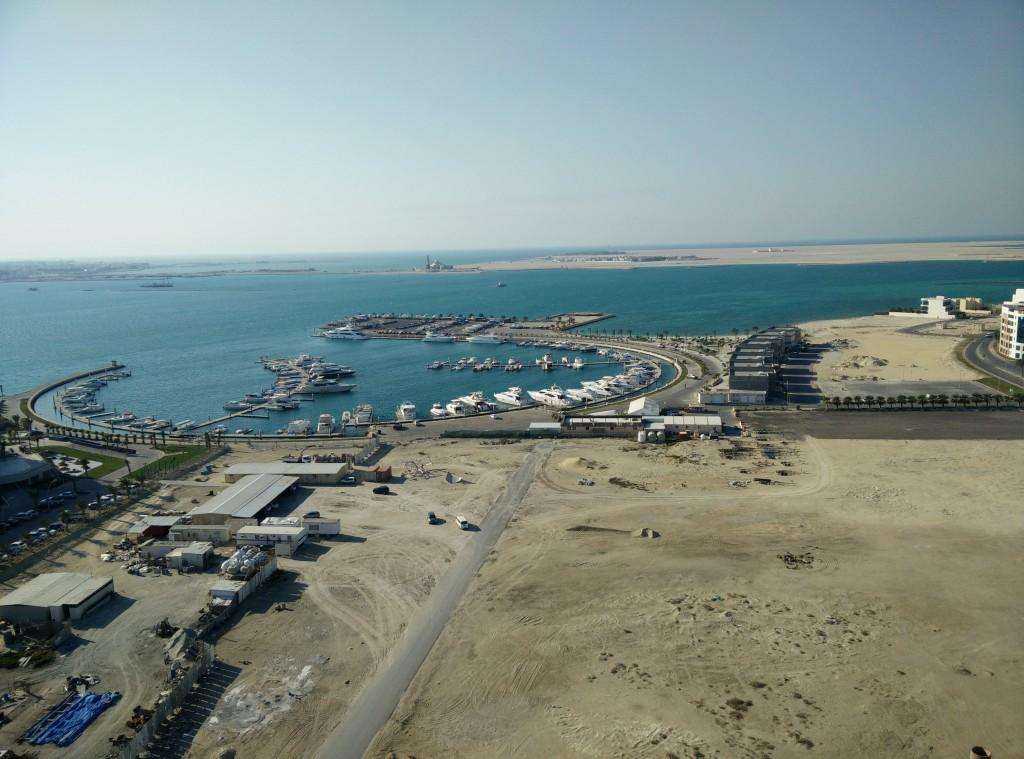 La marina di Amwaj Island